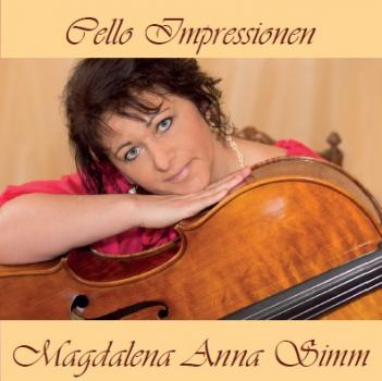 Magdalena Anna Simm - Cello-Impressionen CD